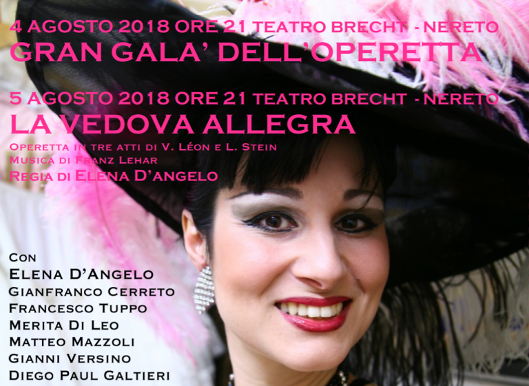Nereto, il Festival dell'Operetta compie 20 anni: due gli appuntamenti