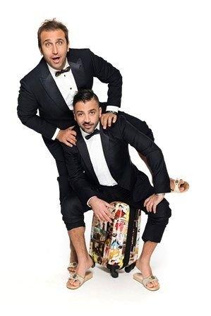 Pio e Amedeo con 'Tutto fa Broadway' al Teatro D'Annunzio di Pescara