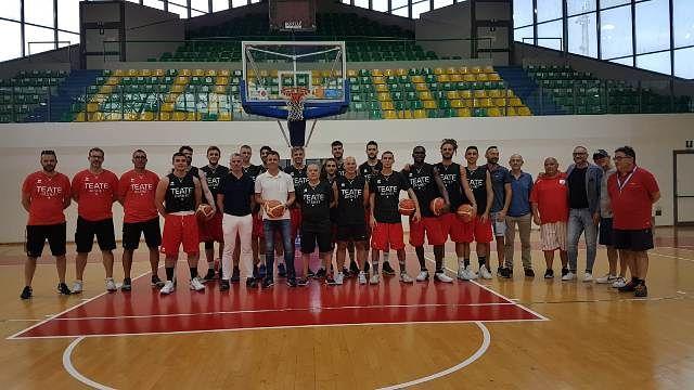 Parte la stagione della Teate Basket Chieti tra novità e incontri prestigiosi