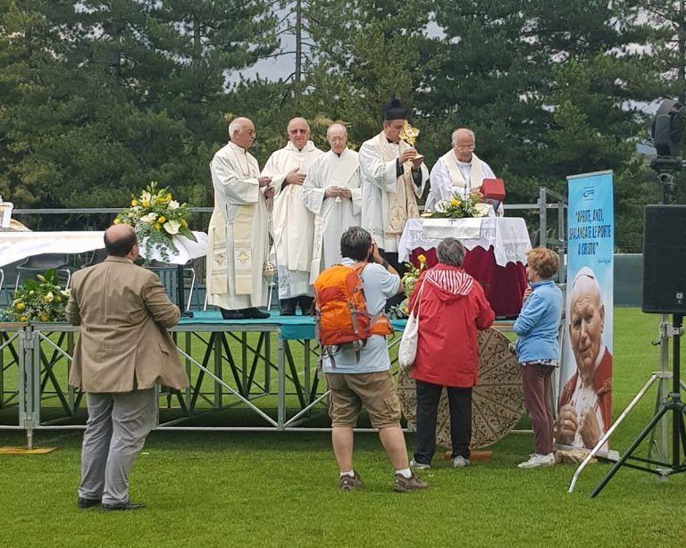 Le Reliquie di Papa Giovanni Paolo II a Rivisondoli