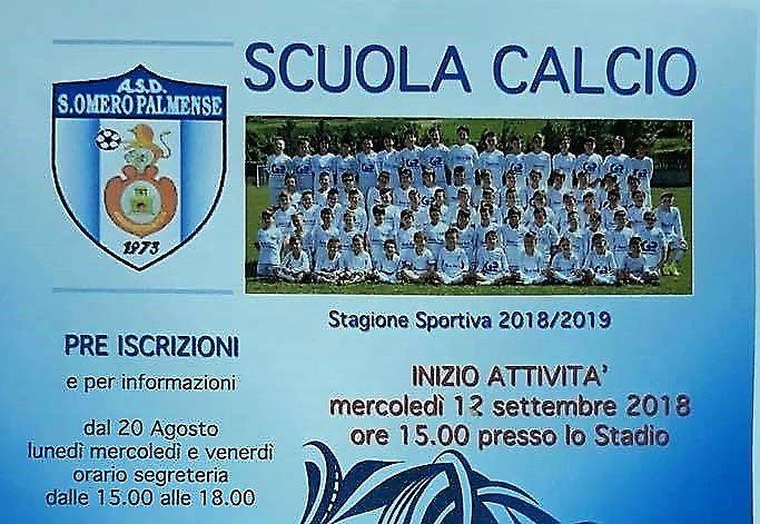 Sant'Omero, aperte le iscrizioni per la Scuola Calcio: tutte le novità