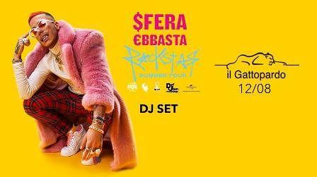 Gattopardo: domenica 12 Agosto concerto di SFERA EBBASTA  Alba Adriatica