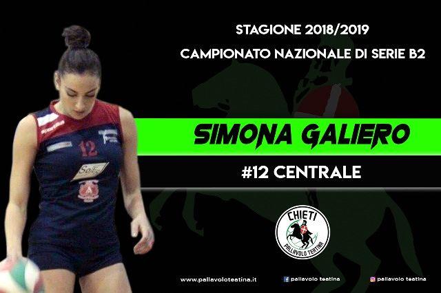 Coged, forza e carattere al centro: Simona Galiero