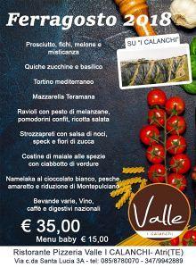 Ristorante-Pizzeria Valle: Pranzo di Ferragosto| Atri