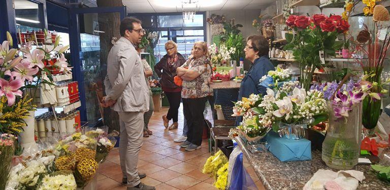Teramo, il Sindaco incontra i fioristi del cimitero di Cartecchio: attenzione puntata sulla ricostruzione