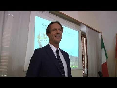 Giulianova, il sindaco Francesco Mastromauro presenta il rendiconto (NOSTRO SERVIZIO)