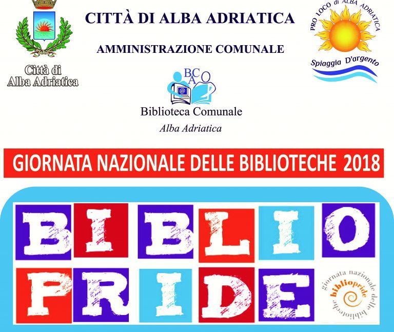 Alba Adriatica, la biblioteca aderisce a Bibliopride: il programma