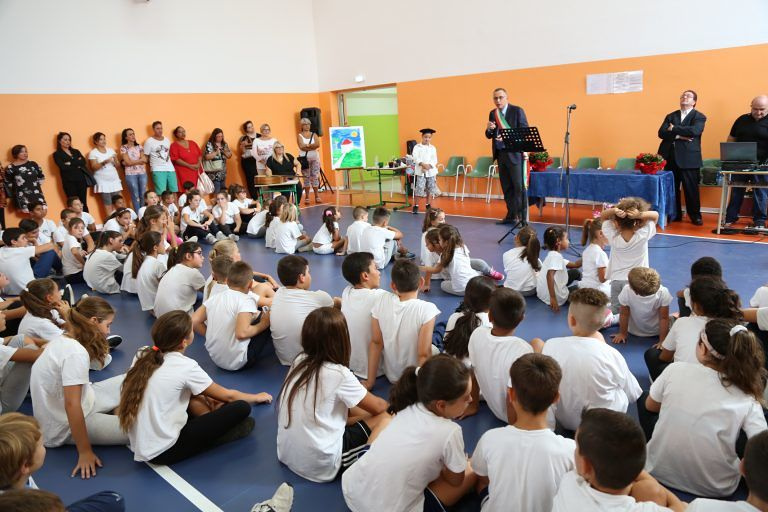 Pescara, aperta la nuova palestra della scuola di via Rubicone