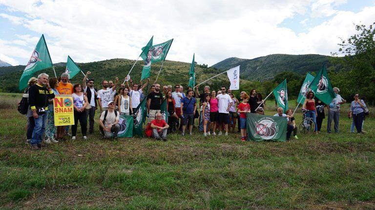 Sulmona, campeggio No Hub del Gas: gli attivisti discutono sulle prossime iniziative FOTO VIDEO