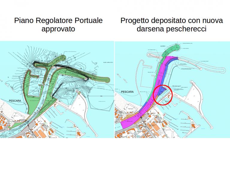 Pescara, nuovo porto: spunta una nuova darsena pescherecci
