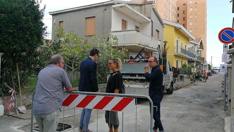 Montesilvano, allagamenti: partono i lavori sulle traverse di via Emilia