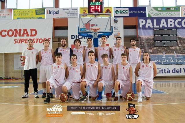 L'Asd Chieti Basket di scena ala PalaBCC con gli amici di Vasto Basket