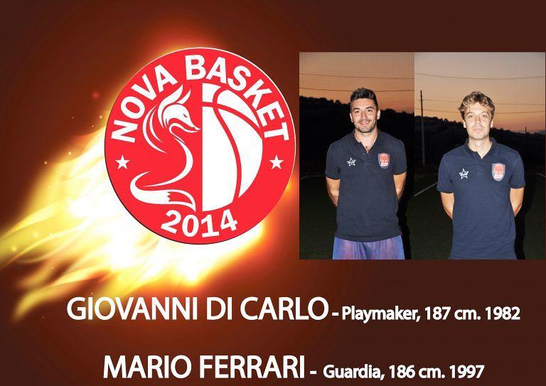 Basket, la Nova Campli conferma Di Carlo e Ferrari. Calendario in salita
