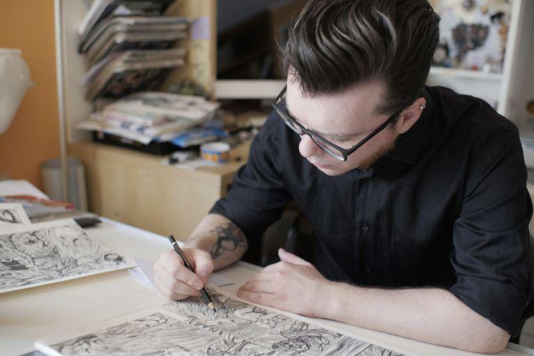 Sant'Omero, mostra personale del fumettista Ulderico Fioretti