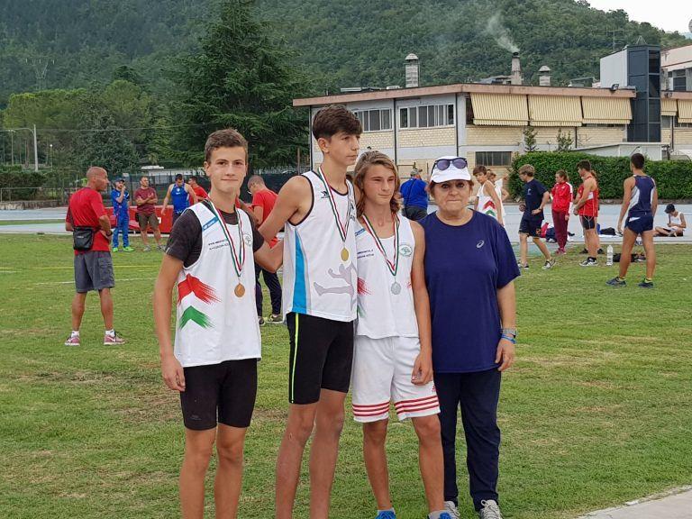 Atletica, piogge di medaglie per l'Ecologica G ai campionati regionali