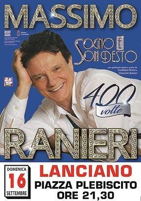 Lanciano, Feste di Settembre: grandissima attesa per Massimo Ranieri