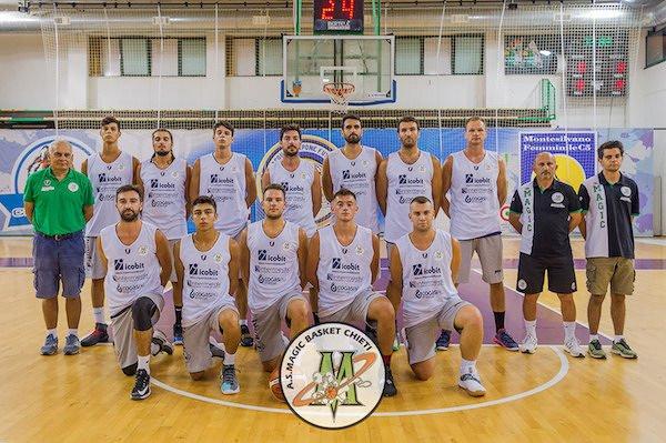 Magic Basket Chieti al via della stagione, si parte dal 'birillo' di Foligno