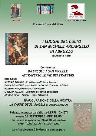 'Il culto in Abruzzo di San Michele Arcangelo' in un libro di Angela Rossi. La presentazione a Chieti