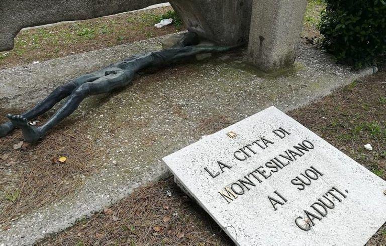 """Montesilvano: """"Il monumento ai caduti senza riqualificazione"""""""