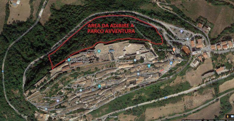 Civitella del Tronto, Parco avventura: pubblicato il bando
