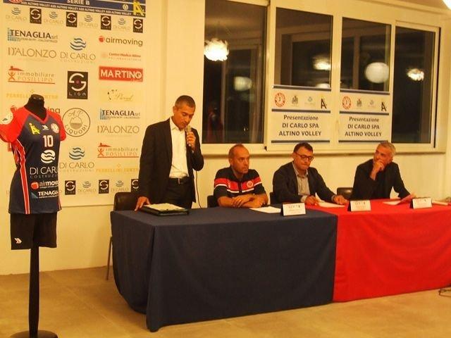 Presentata la Di Carlo Spa Altino Volley VIDEO