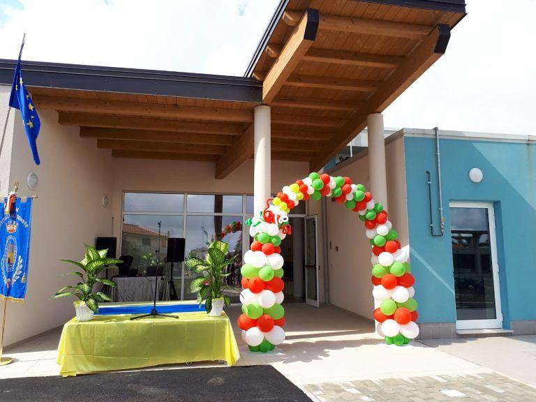 Ecco la nuova scuola materna di Villa Lempa: inaugurato il nuovo edificio FOTO