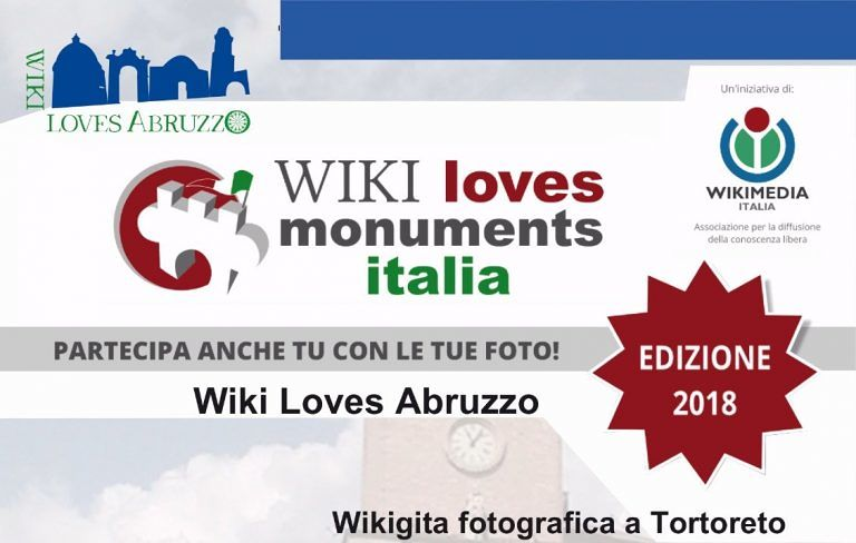 Wikigita fotografica a Tortoreto: alla scoperta dei monumenti e delle bellezze