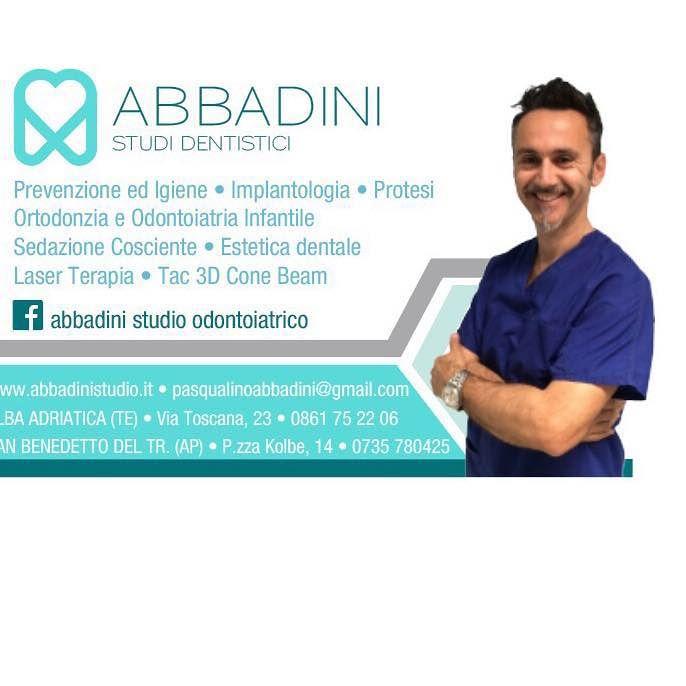 STUDIO ODONTOIATRICO ABBADINI dal 1991 mette a vostra disposizione il meglio delle tecnologie odontoiatriche! Alba Adriatica (TE), San Benedetto del Tronto (AP)