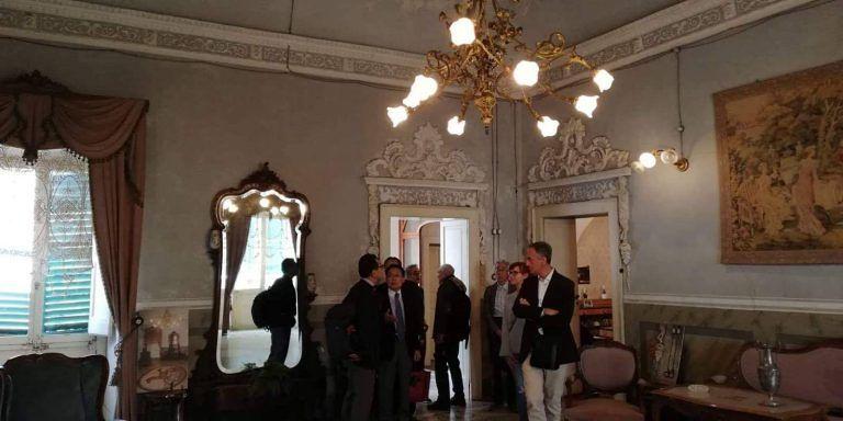 Atri, visita di Dall'Ara e delegazione giapponese per l'avvio di un Albergo Diffuso