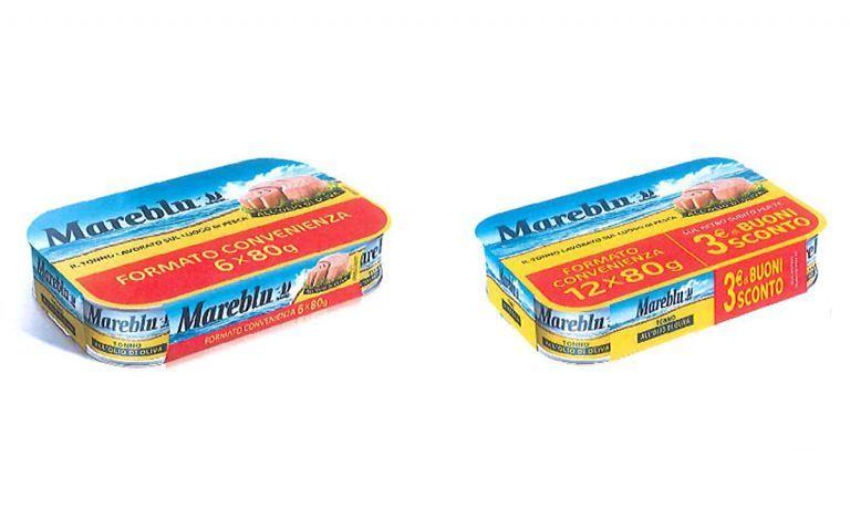 Tonno Mareblu ritirato dal mercato per problemi alla confezione