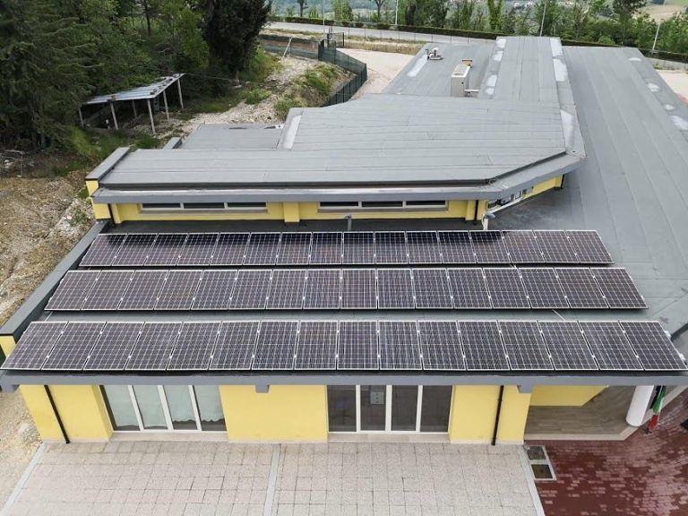 Civitella del Tronto, in funzione impianto fotovoltaico della nuova scuola