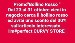 DA I'M PERFECT CURVY STORE sconti del 30%|TORTORETO| cerca il BOLLINO ROSSO in STORE