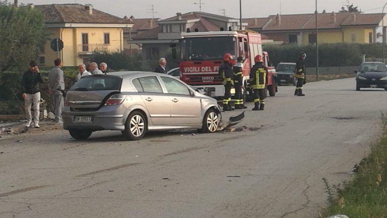 Sant'Egidio, spettacolare incidente a Villa Mattoni. Chiusa la rete del gas