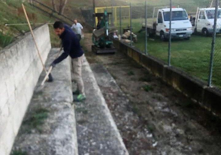 Alba Adriatica, lavori allo stadio per ottenere l'agibilità