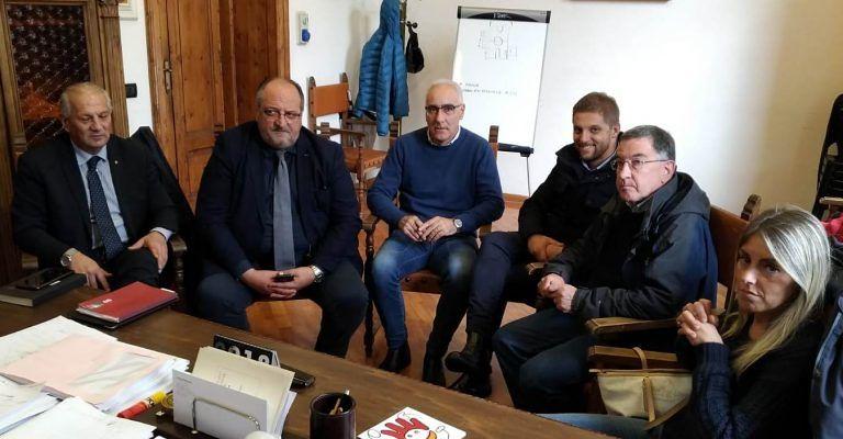 Allarme maltempo Abruzzo: sopralluogo di Mazzocca con i sindaci