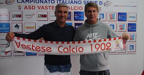 Serie D, Fabio Montani è il nuovo allenatore della Vastese. Esonerato Palladini
