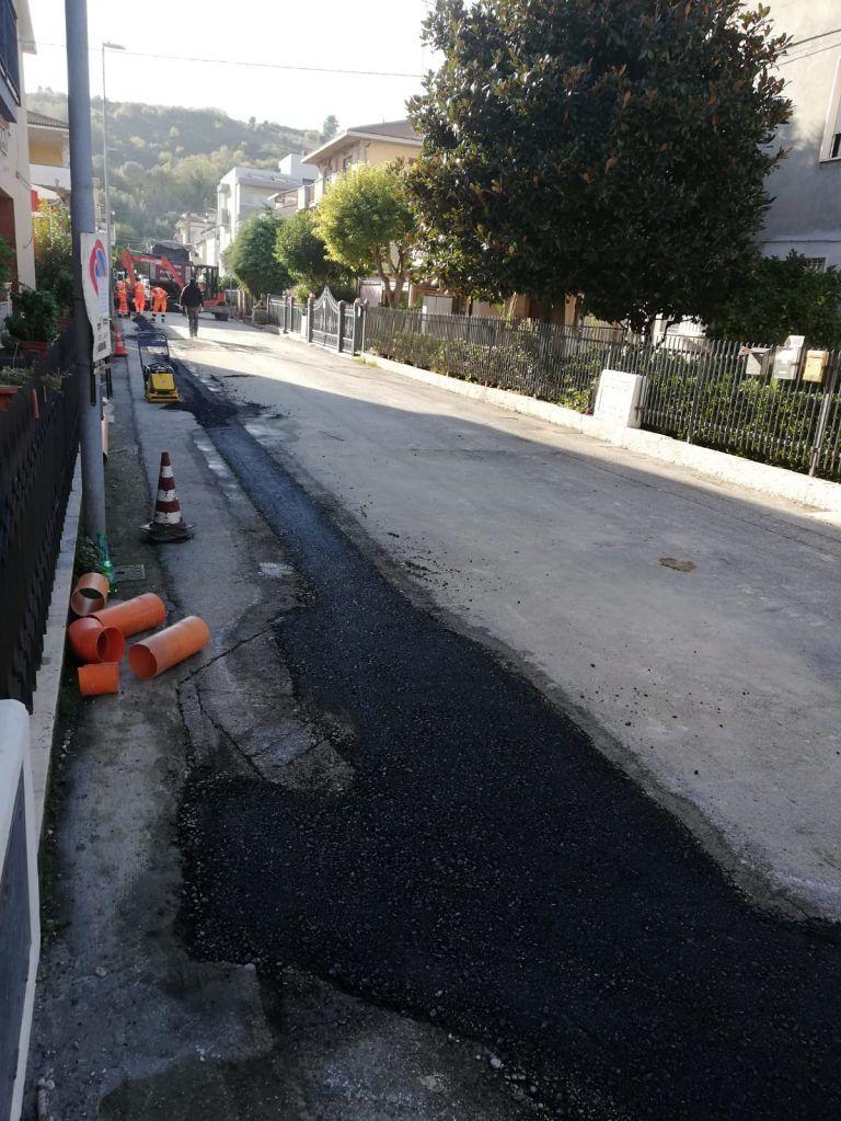 Giulianova, NoiVerso: 'con Mastromauro strade sporche e poca manutenzione' FOTO