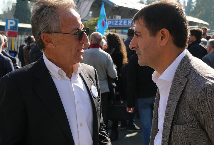 No al terminal bus all'Anagnina: il sit-in di protesta degli amministratori a Roma VIDEO
