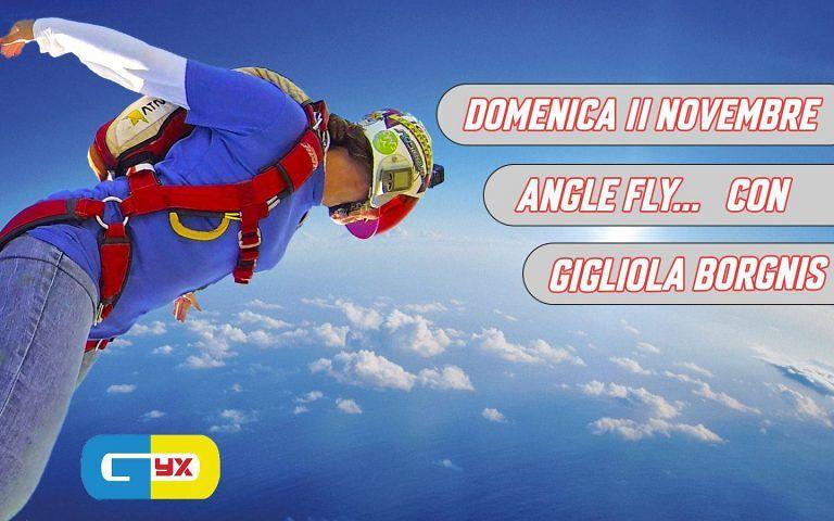 ANGLE FLY Domenica 11 novembre presso il centro SKYDIVES SUNRISE a Corropoli, che dici lo fai un salto?