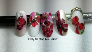 Kelly Nails Academy   Belle ed Eleganti idee per le feste Natalizie sulle tue Unghie a Sant'Egidio alla Vibrata
