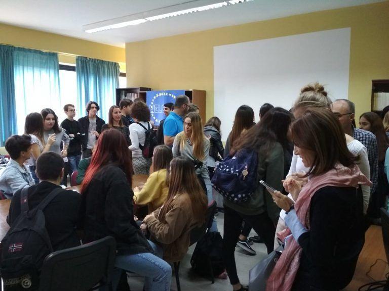 Giulianova, il Liceo Curie apre le porte all'Europa FOTO