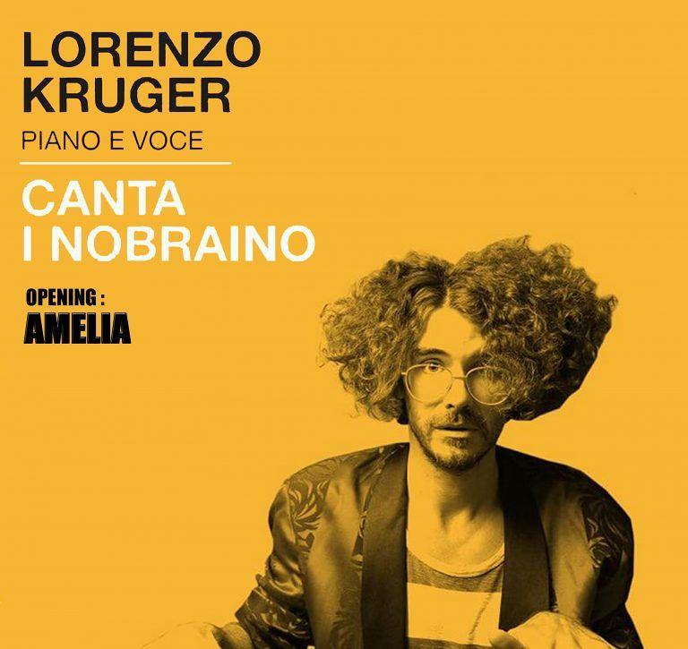 Teramo, Lorenzo Kruger in concerto al circolo Officine Indipendenti