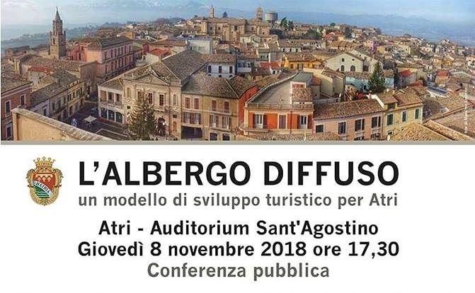 Albergo diffuso ad Atri: conferenza pubblica con Giancarlo Dall'Ara