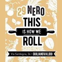 """OSTERIA 29 NERO il """"Know How to Roll"""" a Giulianova Lido TE"""