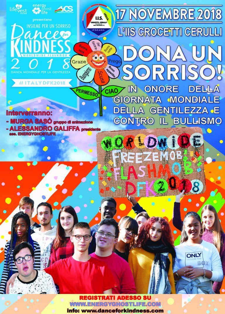 Giulianova, la Giornata Mondiale della Gentilezza all'Istituto Crocetti-Cerulli contro il bullismo