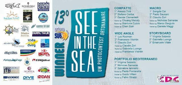 Cerimonia di Premiazione del 13° See in the Sea International Undewater Photocontest OrtonAmare