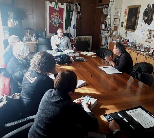 Trasformazione Chieti Solidale in Srl: il Sindaco incontra le organizzazioni sindacali