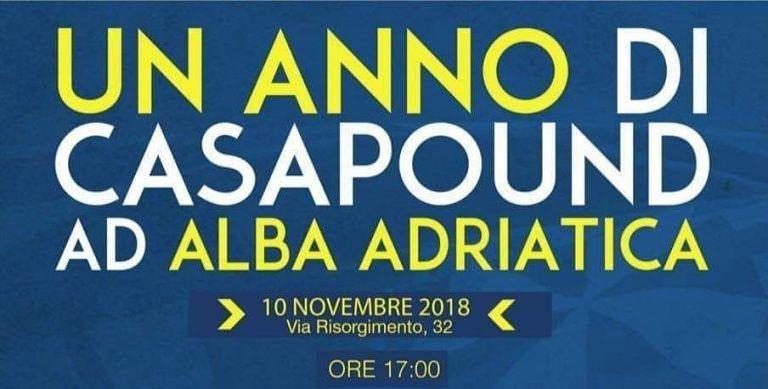 Alba Adriatica, le ragioni della crisi in Val Vibrata: dibattito nella sede di CasaPound