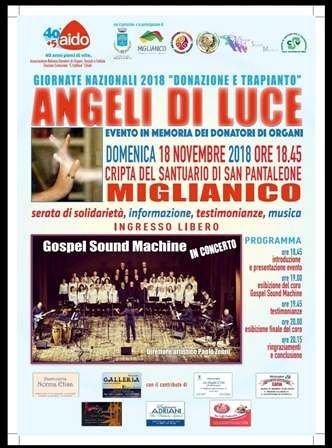 'Angeli di Luce', evento di sensibilizzazione e informazione a Miglianico