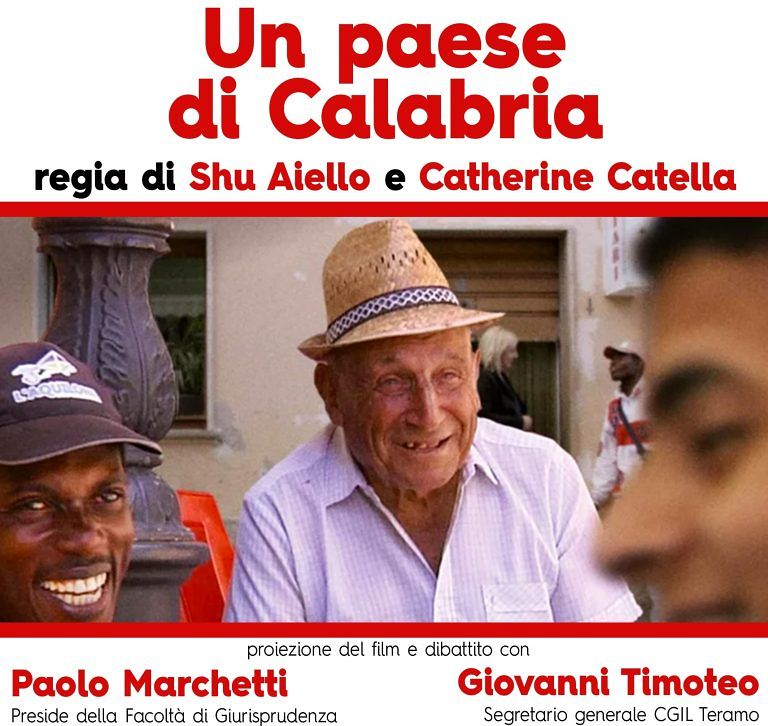 Un paese di Calabria: la proiezione del film sul 'modello Riace' allo Smeraldo di Teramo